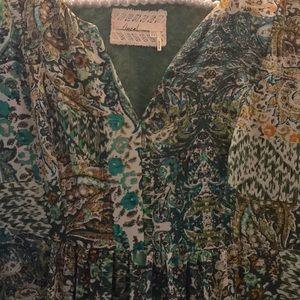 Anthropologie Dresses - 💗Anthropologie Floreat Amelie Silk Kimono Dress